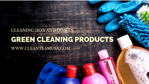 Cleaning Do's and Don'ts: Green Cleaning