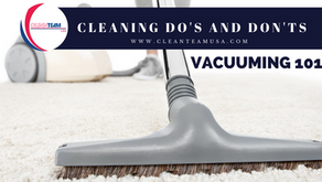 Cleaning Do's and Don'ts : Vacuuming 101