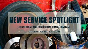 New Service Spotlight-Trash Removal