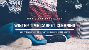 Winter Time Carpet Cleaning