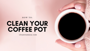 How To: Clean Your Coffee Pot