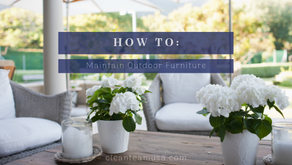 How to: Maintain Outdoor Furniture