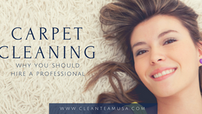Carpet Cleaning: Why you should hire a professional