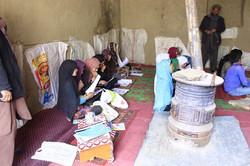 Unterricht im Pandschirtal