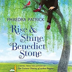audiobook by James Langton Rise & Shine Benedict Stone. book cover graphic