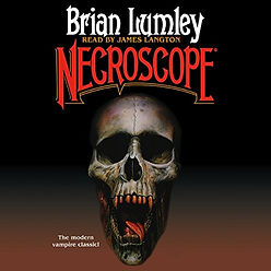audiobook by James Langton Necroscope book cover graphic