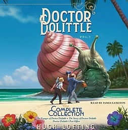 audiobook by James Langton Dr Dolittle book cover