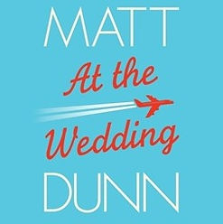 audiobook by James Langton At the Wedding book cover graphic