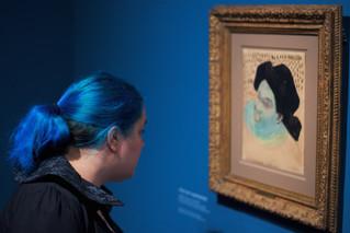 Люди искусства: Стефан Драшан фотографирует посетителей выставок