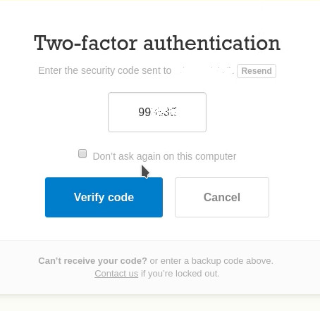 2FA(2 Factor Authentication( Bypass