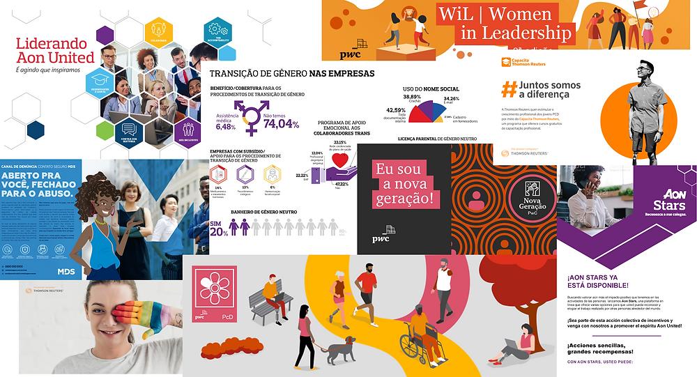 Campanhas criadas pela Amper parte de estratégias de Employer Branding