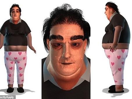 Obesidade, perda de cabelo: ilustração simula efeitos do home office em isolamento durante 25 anos