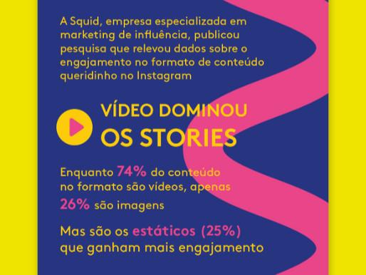 Os dados que não aparecem nos Stories, o formato queridinho do Instagram [Infográfico]