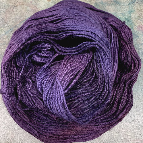 BFL Worsted-Marionberry