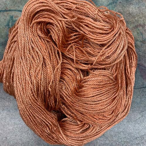 Silk/Baby Camel-Persimmon