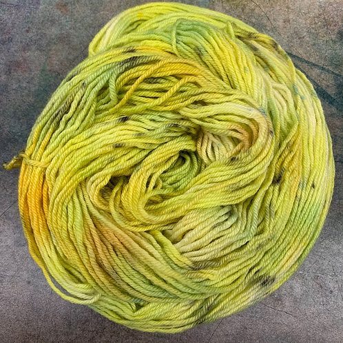 BFL Worsted-Green Jay
