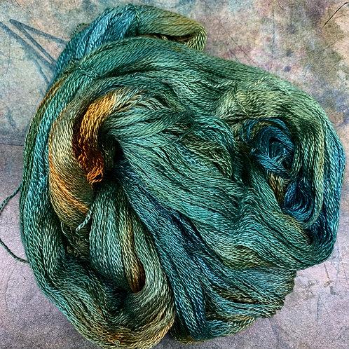 Cashmere Silk Fingering II- Olive Tones