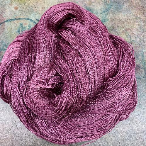 Yak Silk Lace- Mulberry