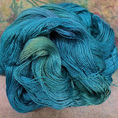 Yak Silk Lace-Deep Sea