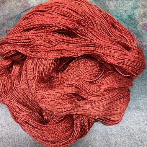 Yak Silk Lace-Paprika