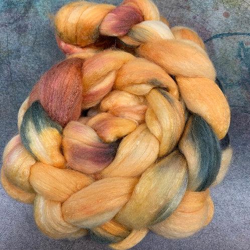 Merino/Tussah Silk- Leaf Pile