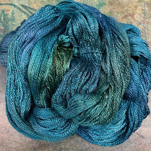Cashmere Silk Fingering II-Deep Sea