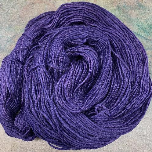 BFL Worsted-Violet