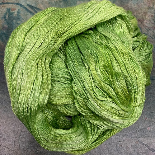 Cashmere Silk Fingering II- Praying Mantis