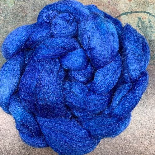 Merino/Tussah Silk-Anna Blue