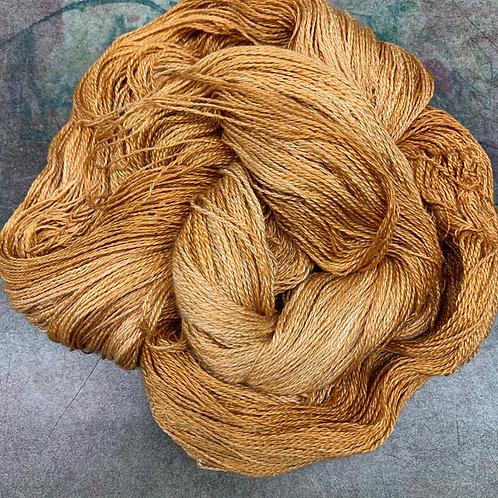 Yak Silk Lace- Warm Gold
