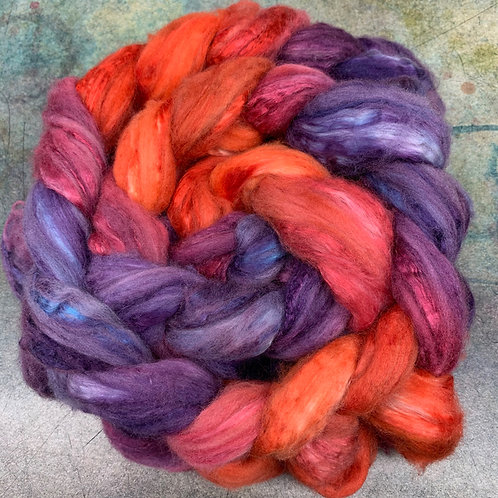 Merino/Mulberry Silk-Orion Nebula