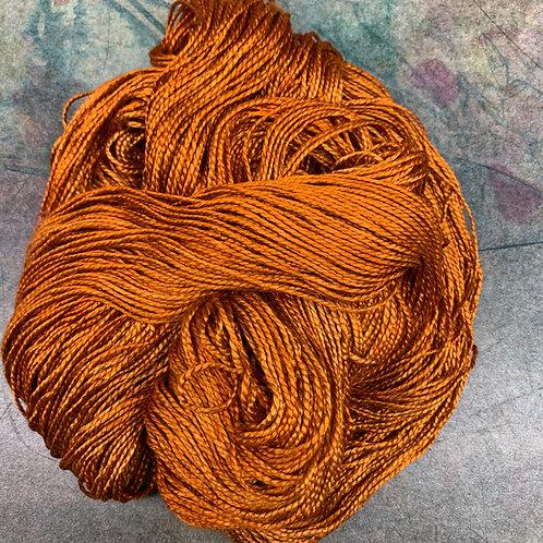 Silk Lace- Rust