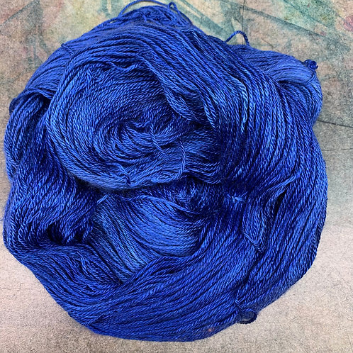 Silk/Baby Camel- Anna Blue