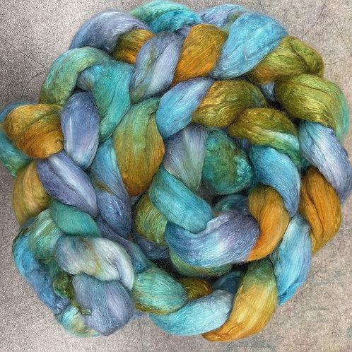 Merino/Mulberry Silk-South Pacific