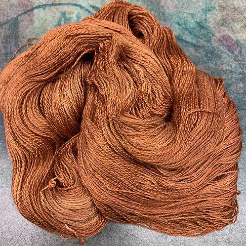 Yak Silk Lace-Terra Cotta