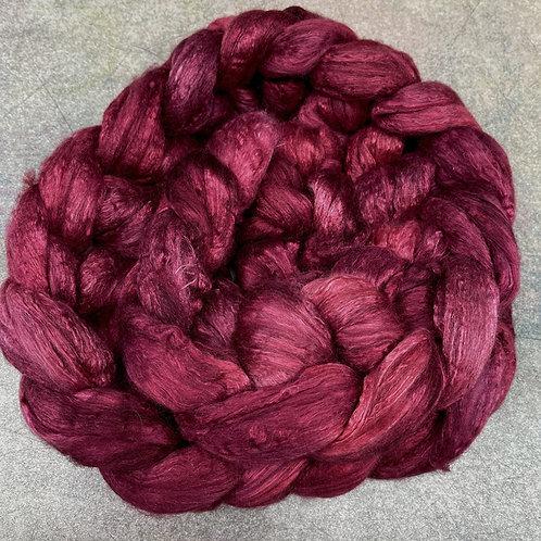 Merino/Mulberry Silk-Berry Compote