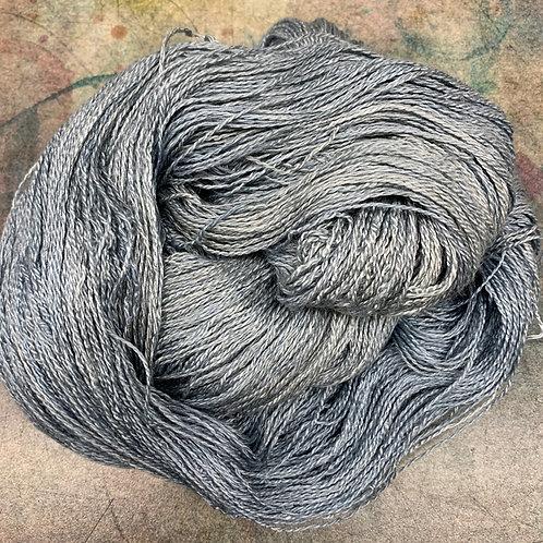 Yak Silk Lace-Blue Steel