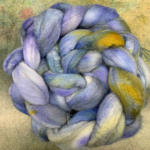Merino/Cashmere/Tussah-Dutch Iris