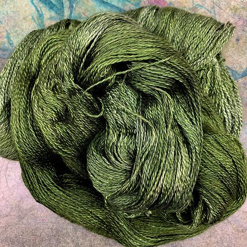 Cashmere Silk Fingering II- Pesto