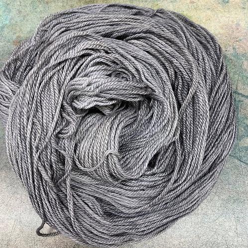 Polwarth/Silk- Grey Blade