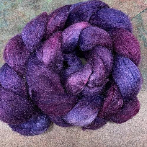 Merino/Tussah Silk- Marionberry