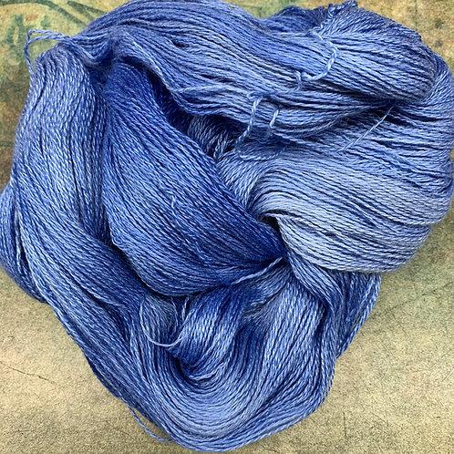 Yak Silk Lace- Cornflower