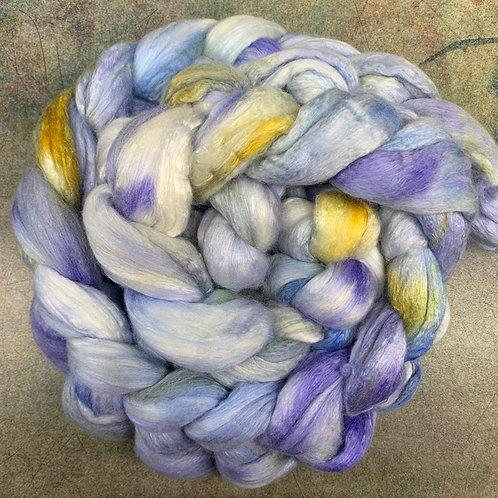 Silk Merino Top-Dutch Iris