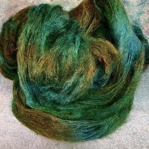 Kid/Silk Lace- Olive Tones