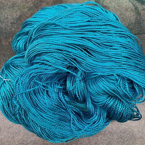 Silk Lace- Tahitian Blue