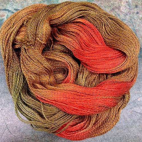 BAby Alpaca Silk Petite II- Salmon Run