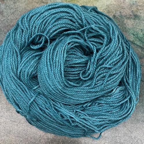 Polwarth/Silk-Smoked Teal