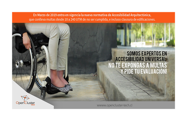accesibilidad universal, accesibilidad arquitectonica
