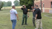 Stun gun training session held at the West TN Regional Training Center
