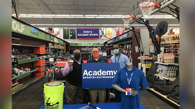 Local baseball league receives donation from Academy Sports and Lane College
